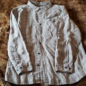 Columbia button down long sleeve shirt